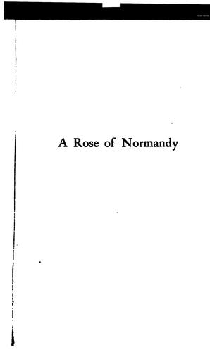 Download A rose of Normandy