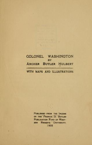Download Colonel Washington