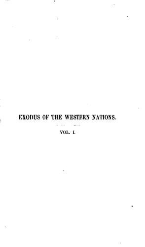 Download Exodus of the western nations.
