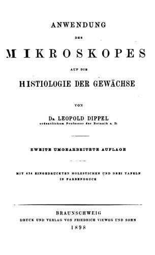 Download Das Mikroskop und seine Anwendung.