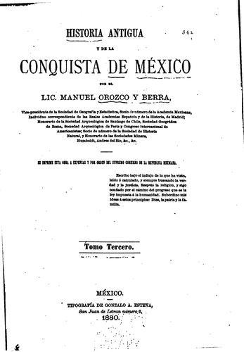 Download Historia antigua y de la conquista de México