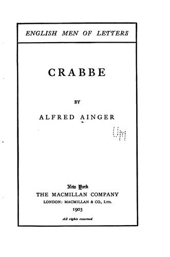 Download Crabbe