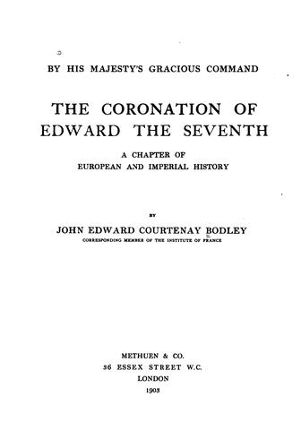 …The coronation of Edward the Seventh