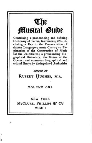 The musical guide