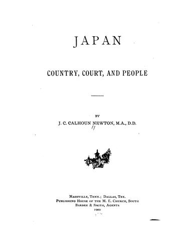 Japan, country, court, and people