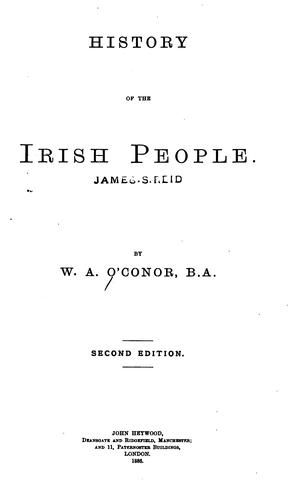 Download History of the Irish people.
