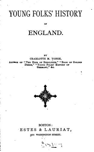 Download Young folks' history of England.