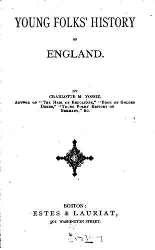 Young folks' history of England.