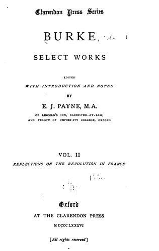 Download Burke, select works