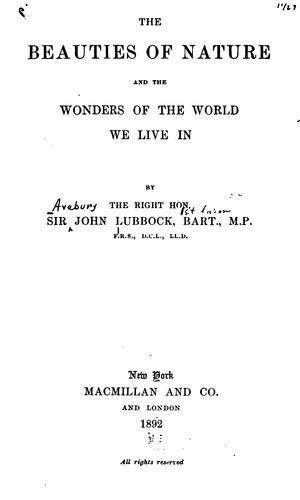 Download The beauties of nature and the wonders of the world we live in