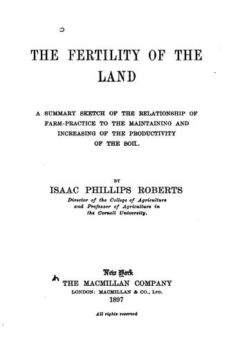 The fertility of the land
