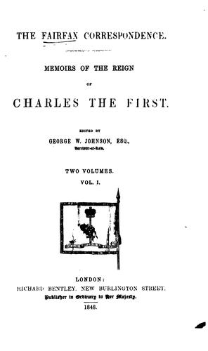 The Fairfax correspondence.