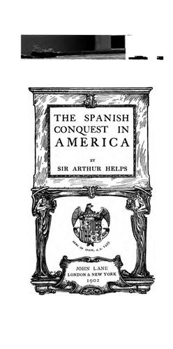 Download The Spanish conquest in America