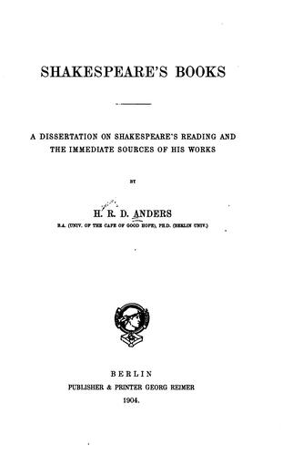 Download Shakespeare's books