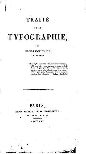 Download Traité de la typographie