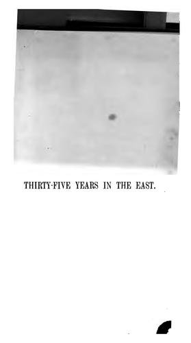 Download Thirty-five years in the East.