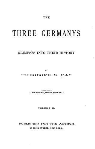 Download The three Germany's