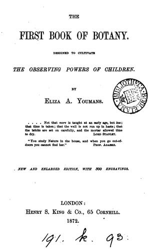 Download The first book of botany
