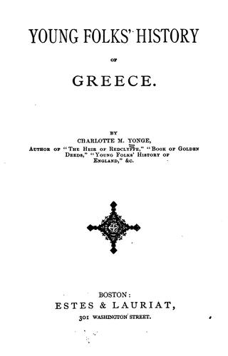 Download Young folks' history of Greece
