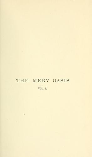Download The Merv Oasis