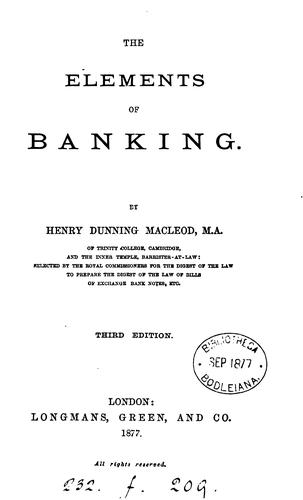 Download Elements of banking