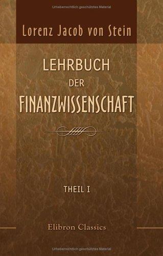 Lehrbuch der Finanzwissenschaft