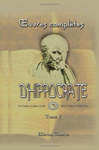 Download oeuvres complètes d'Hippocrate