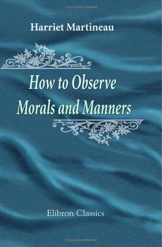 Download How to Observe. Morals and Manners