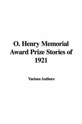 Download O. Henry Memorial Award Prize Stories of 1921