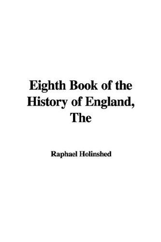 The Eighth Book of the History of England