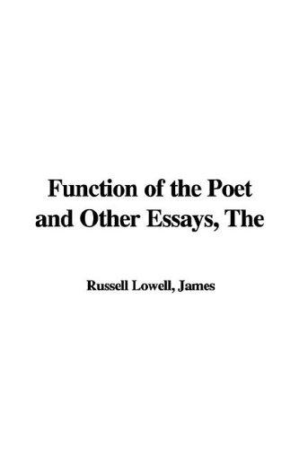 Function of the Poet and Other Essays