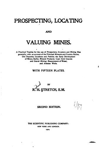 Download Prospecting, locating, and valuing mines.
