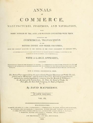 Download Annals of commerce, manufactures, fisheries, and navigation