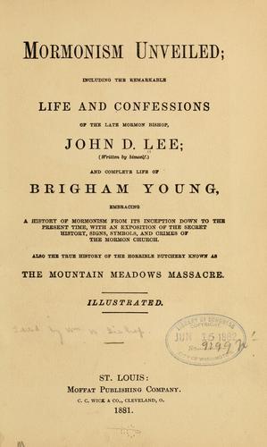 Download Mormonism unveiled
