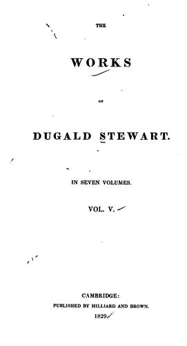 Download The works of Dugald Stewart