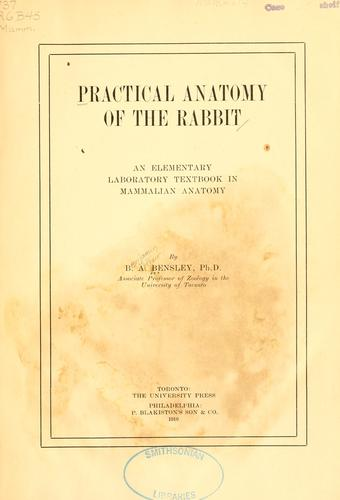 Download Practical anatomy of the rabbit