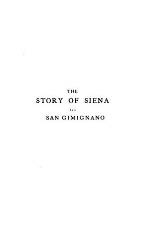 The story of Siena and San Gimignano