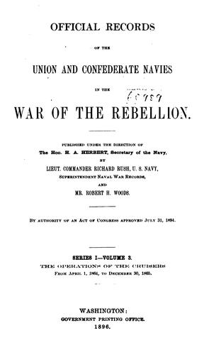 Download Official records of the Union and Confederate navies in the war of the rebellion …