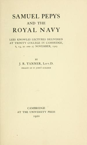 Download Samuel Pepys and the royal navy