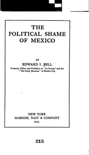 Download The political shame of Mexico