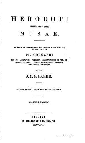 Download Herodoti Halicarnassensis Musae