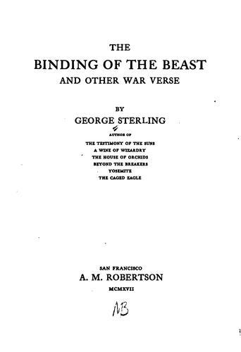 The binding of the beast