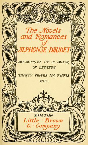 Download The novels and romances of Alphonse Daudet .