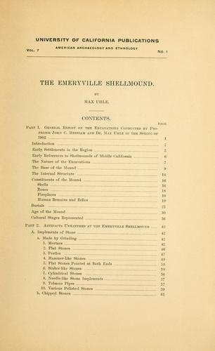 Download The Emeryville shellmound