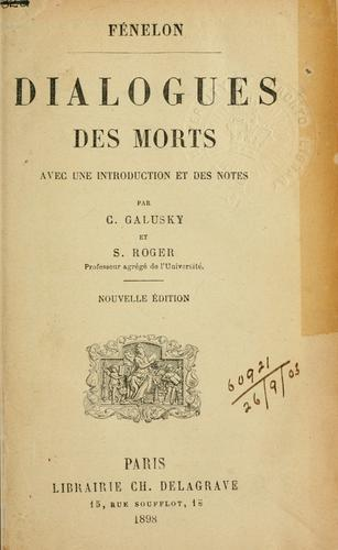 Download Dialogues des morts.