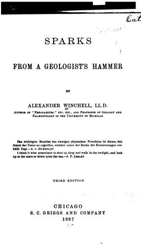 Download Sparks from a geologist's hammer.