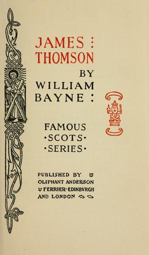 Download James Thomson. —