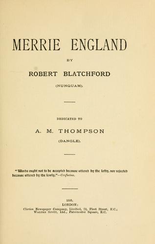 Download Merrie England