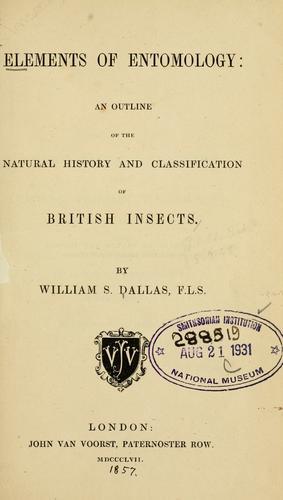 Download Elements of entomology