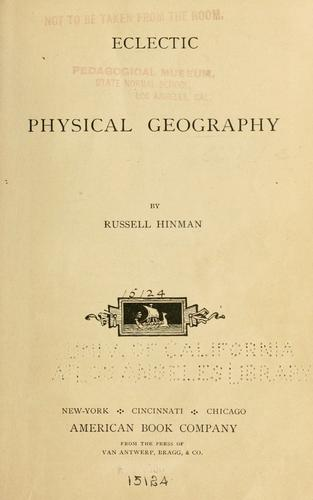 Download Eclectic physical geography.